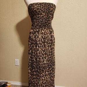 Mlle Gabrielle Strapless Maxi Dress Size 3x
